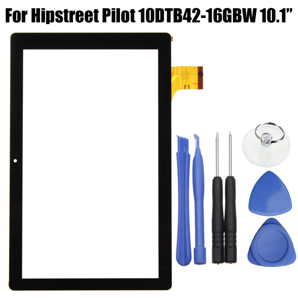 Black LCD Touch Screen Digitizer For Hipstreet Pilot 10DTB42-16GBW 10.1