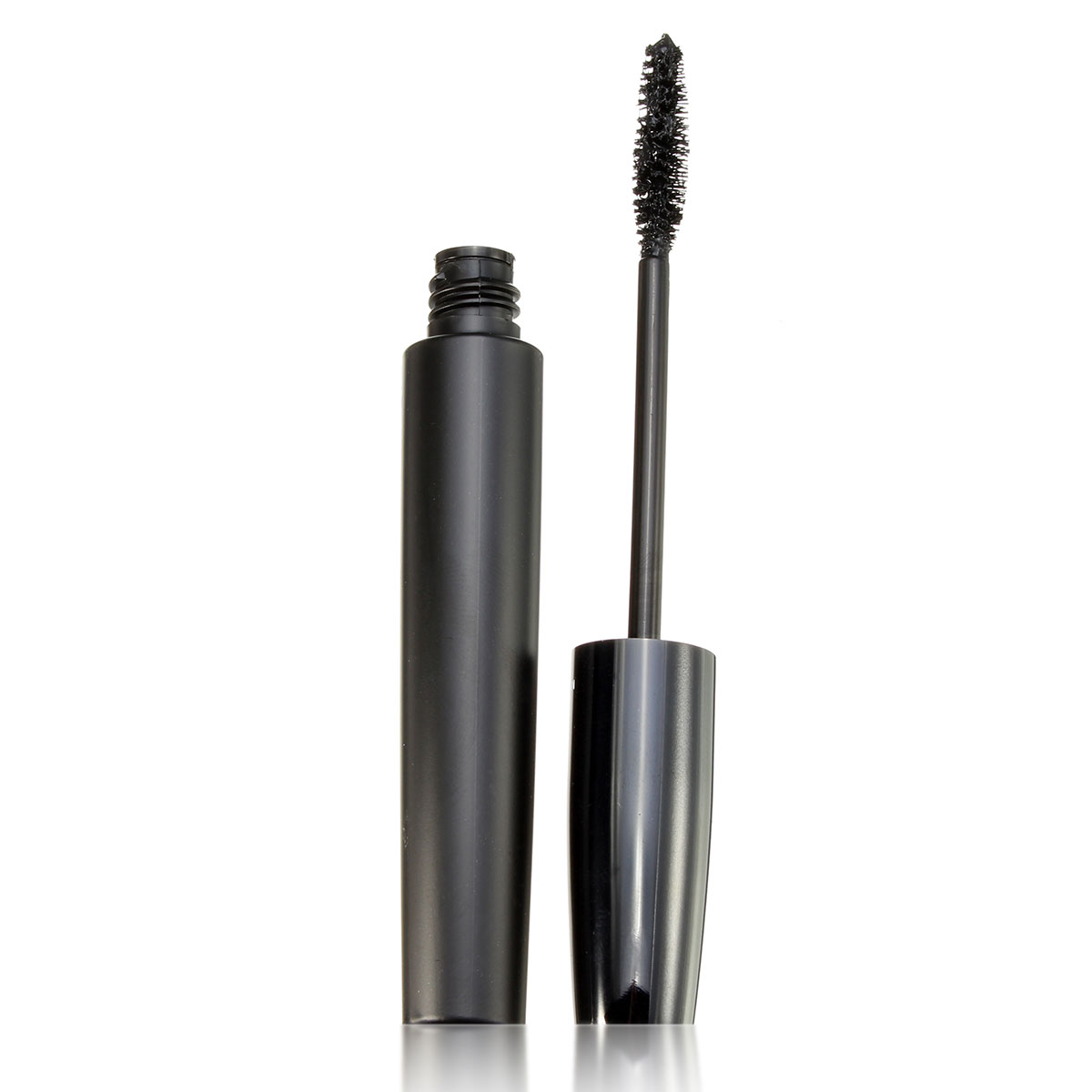 2Pcs QiBest Waterproof Eye Mascara 3D Fiber Curling Lash Makeup Eyelash Set