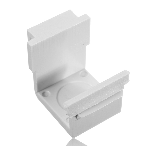 18x16mm Keystone Filling Part Wall Socket Faceplate White Color