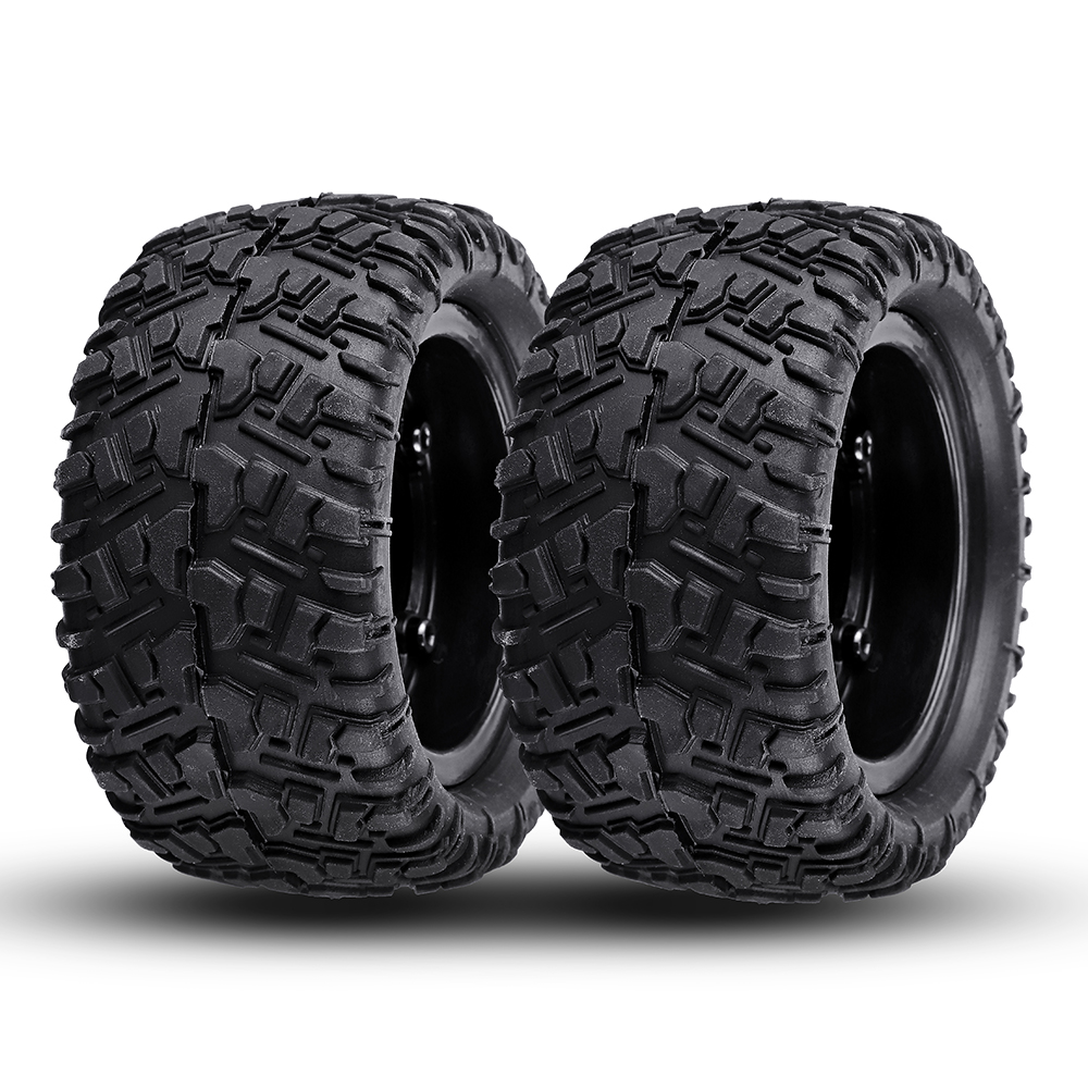 Remo P6973 Rubber RC Car Tires For 1621 1625 1631 1635 1651 1655 RC Vehicle Models - Photo: 11