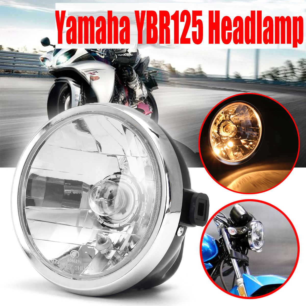 TAIL LIGHT ASSEMBLY For Yamaha YBR125 YBR 125 2002-2013 03 04 05 06 07 08 09 10