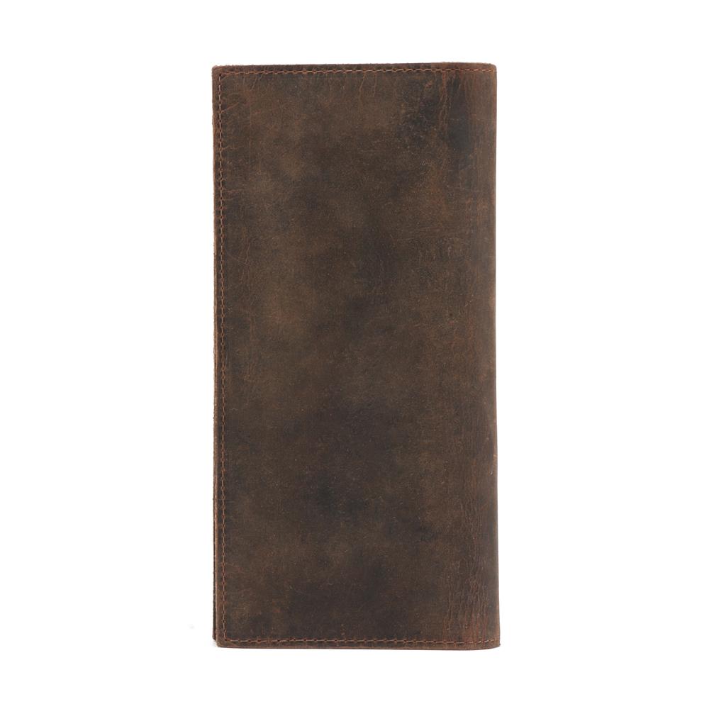 Epkhero Men Genuine Leather Long Vintage Wallet Card Holder