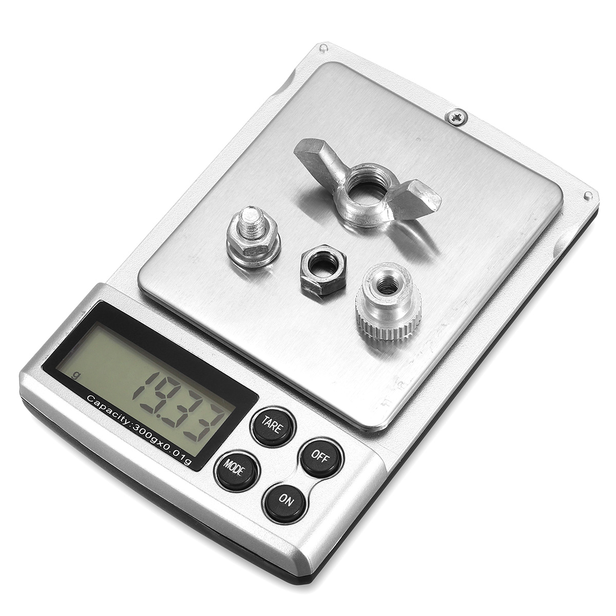 100g/0.01g 300g/0.01g LCD Mini Digital Pocket Jewelry Diamond Scale Weight Balance Tool with Backlight