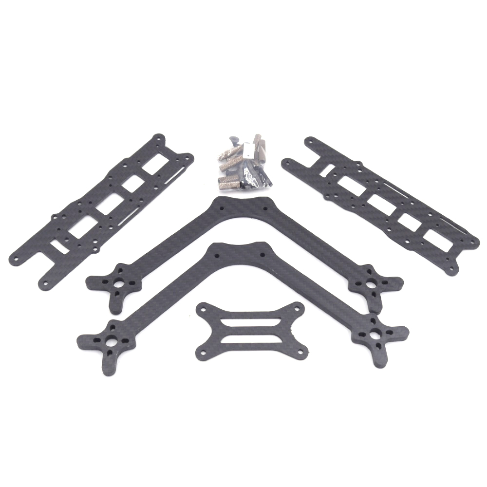 LEACO FlosStyle 245mm Wheelbase 5 Inch 5mm Arm Acro Freestyle FPV Racing Frame Kit - Photo: 6