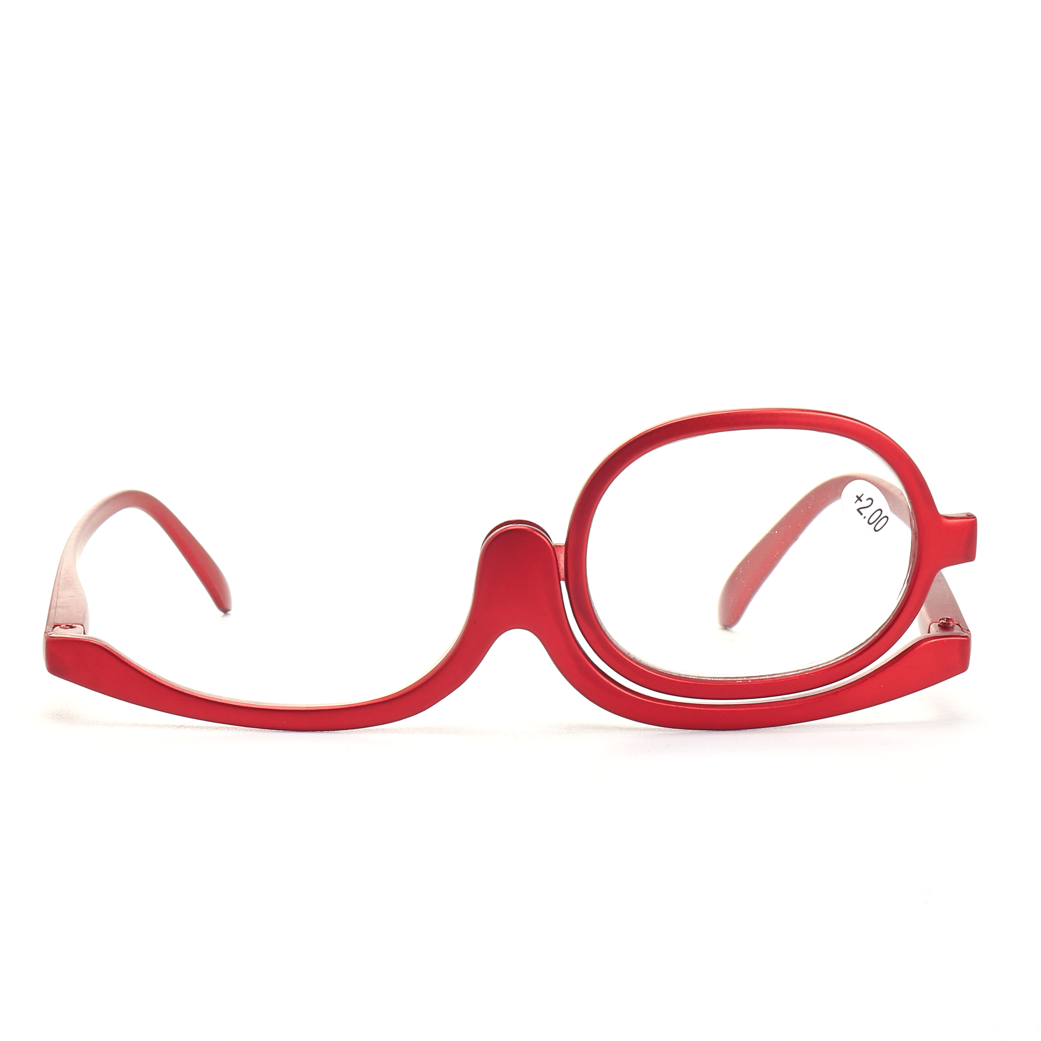 Unisex Rotatable Magnify Eye Cosmetic Reading Glasses