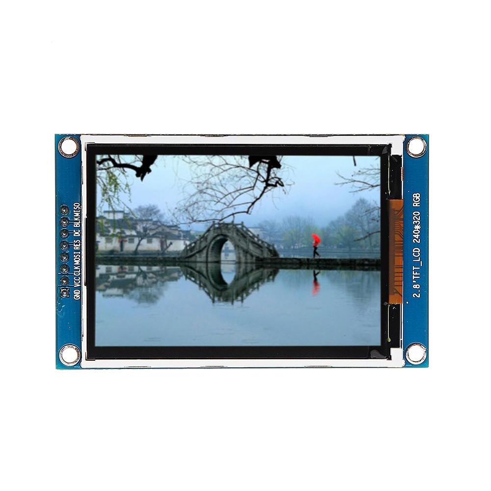 2.8 Inch 320x128 LCD Display Module SPI Serial Module TFT Color Screen Driver IC ILI9341