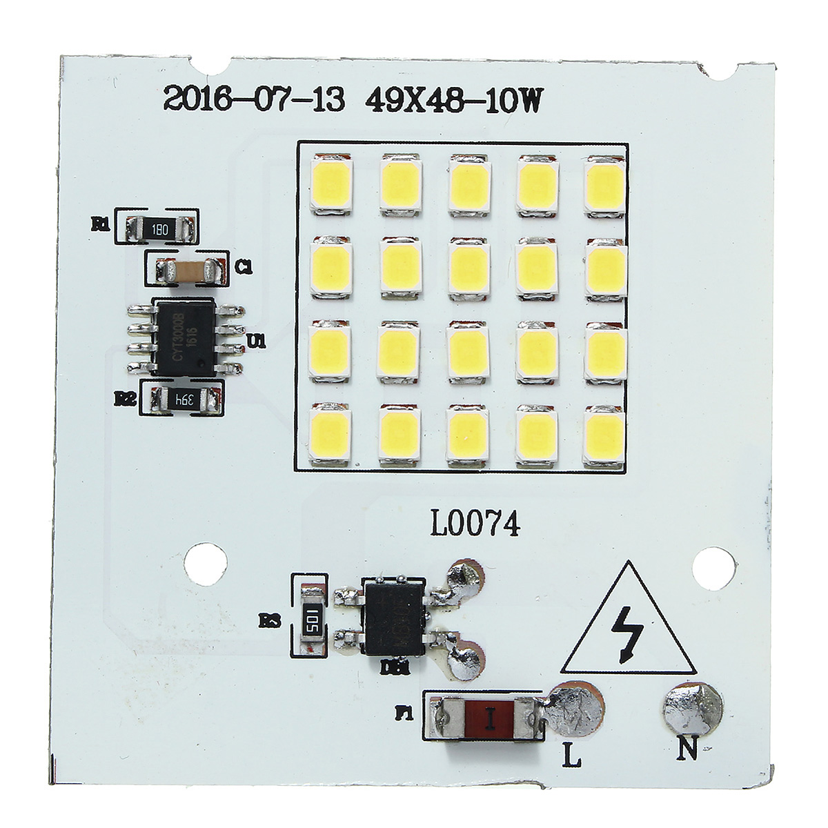 10W SMD2835 Outdooors Smart IC LED Bulbs COB Chip Bead Flood Light Lamp 220V