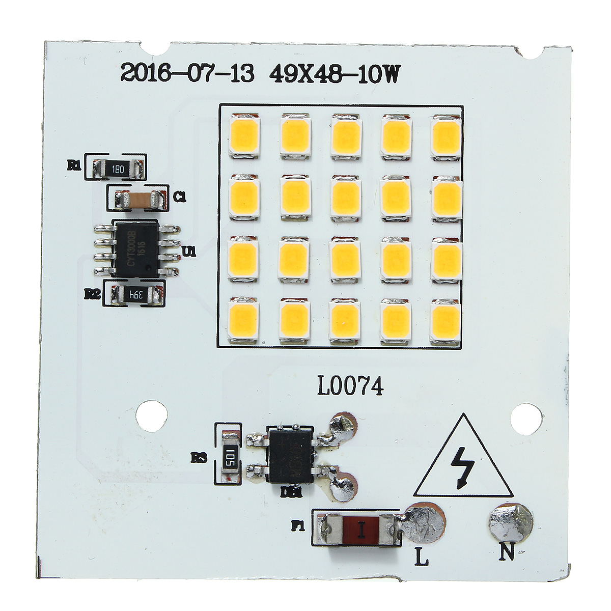 10w Smd2835 Outdooors Smart Ic Led Bulbs Cob Chip Bead Flood Light Wiring Diagram Lamp 220v