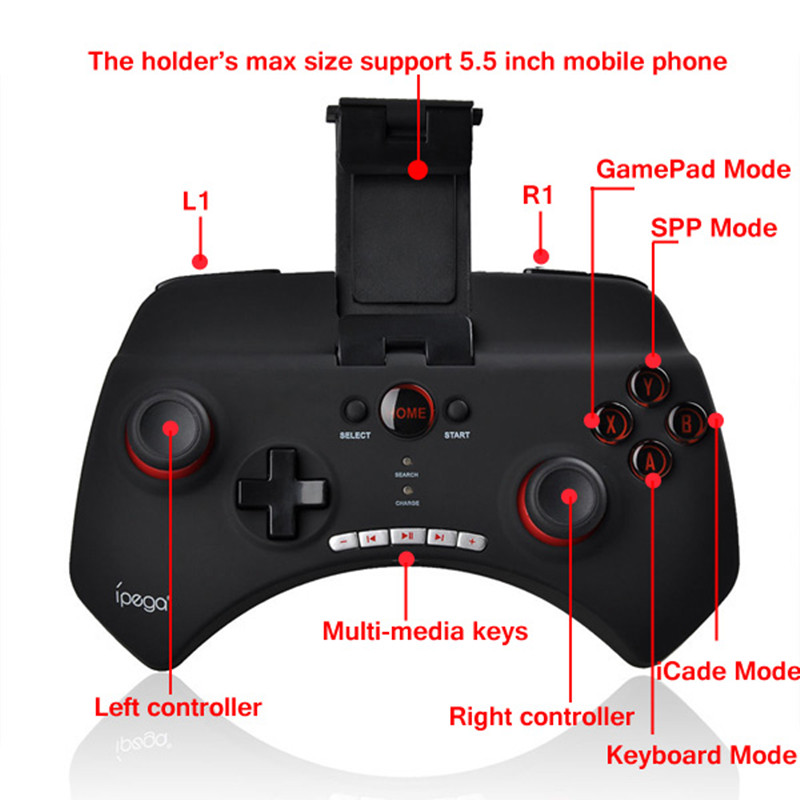 how to connect bluetooth game controller to android phone