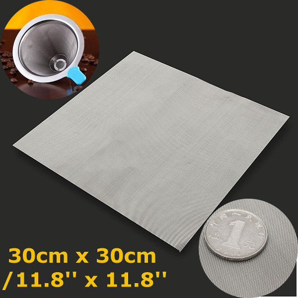 30x30cm Stainless Steel 304 Cloth Filtration Woven Wire Screen 50 Mesh