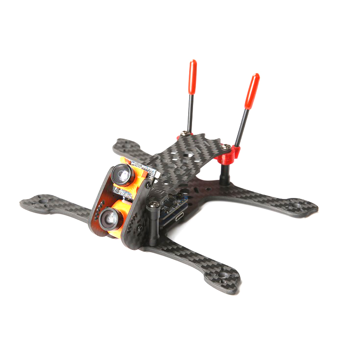 iFlight iH3 Dual Split Mini 3 Inch 142.5mm Wheelbase 3mm Arm Carbon Fiber FPV Racing Frame Kit