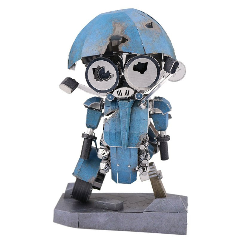 MU Soldier Model Building DIY 3D Puzzle Stainless Steel Model Set Action Figure