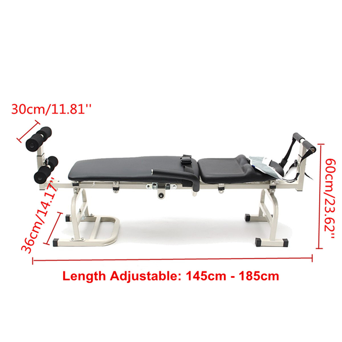 New Therapy Massage Bed Table Cervical And Lumbar Neck