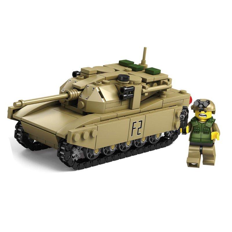 Kazi Tank Team Building Blocks Sets Toys Educational Gift Fidget Toys #84043+84044 580 Push Pcs