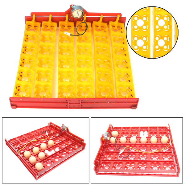 144/36 Chicken Eggs Incubator Automatic Duck Quail Bird Poultry Egg Incubator Tray