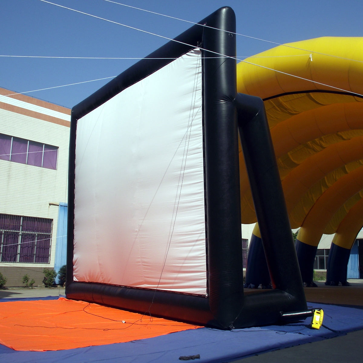 SY0307 5x3m Movie Screen Inflatable Giant Outdoor Projector Cinema Theatre Backyard