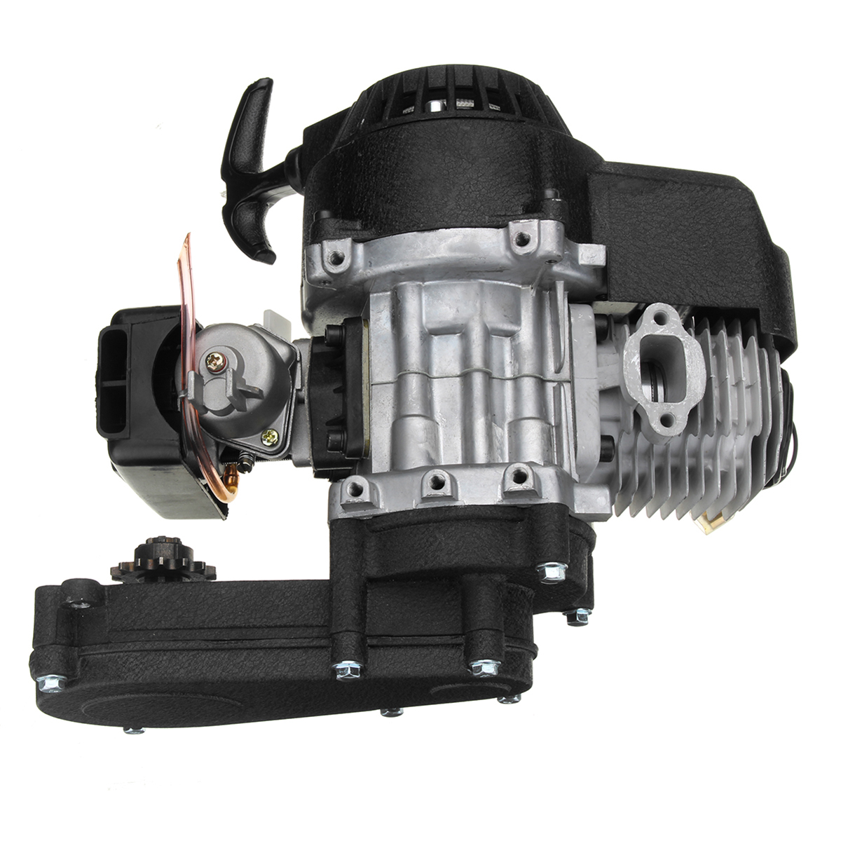 49cc Engine 2-Stroke Electric Pull Start With Transmiss