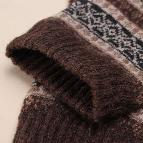 Winter Mens Warm Thick Socks Wool Mixture Cashmere Casual Socks