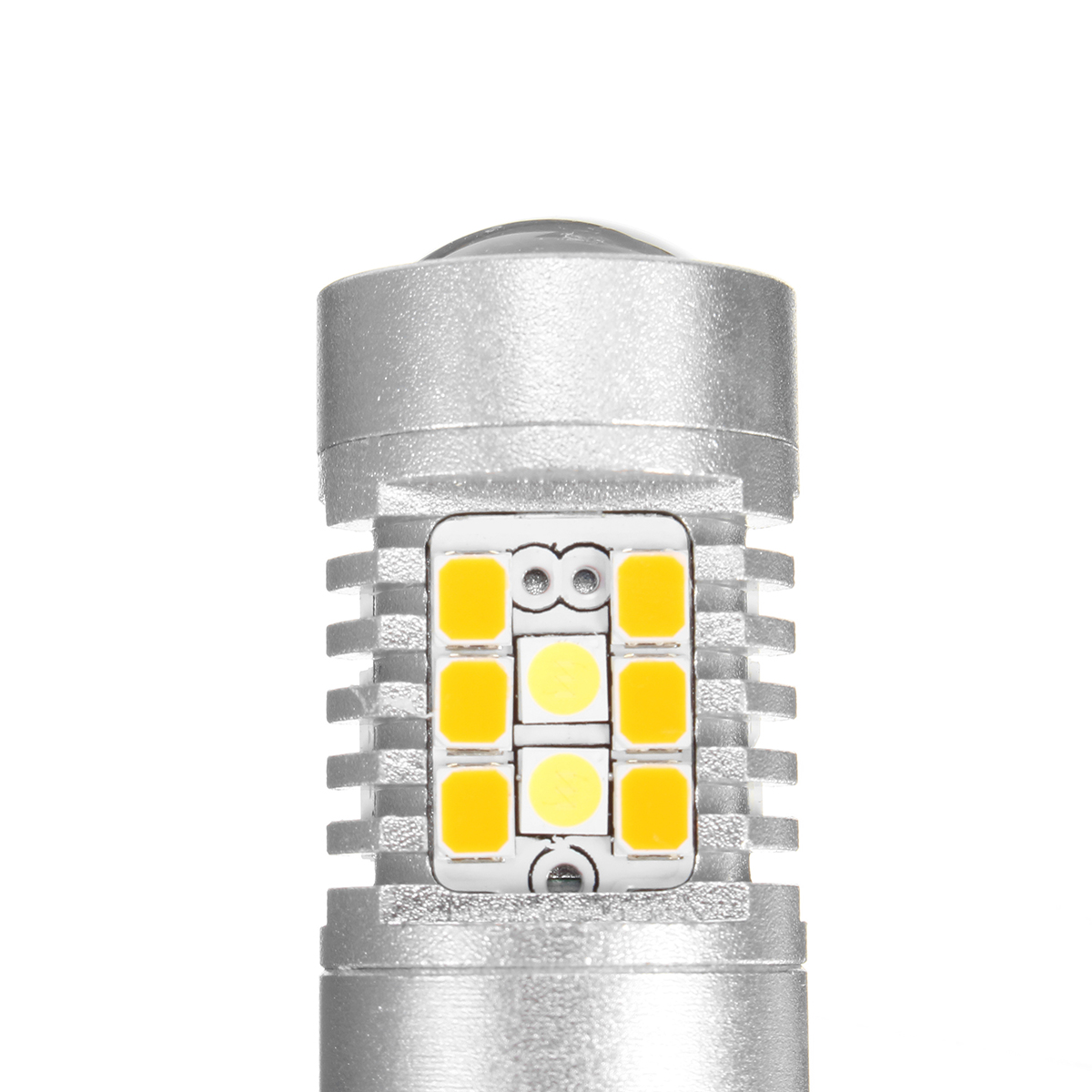 High Power 3157 Dual-Color Switchback 28-SMD LED Turn Signal Bulbs HS