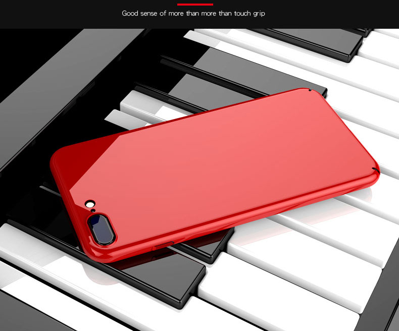 Bakeey Piano Paint Glossy Ultra Thin Hard PC Protective Case for iPhone 7/7Plus/8/8 Plus