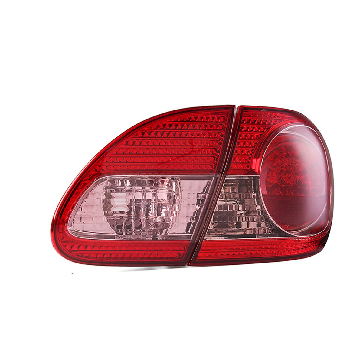 Car Rear Right Tail Light Cover Red with No Bulb for Toyota Corolla 2003-2008 TO2801144