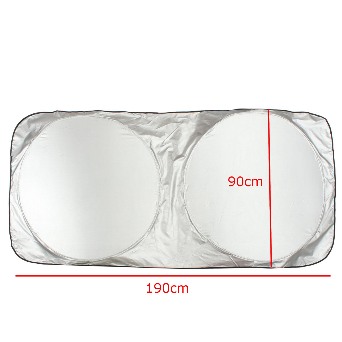 190x90cm Nylon Folding Front Window Sunshade Visor Wind Shield Block Cover for Car Truck