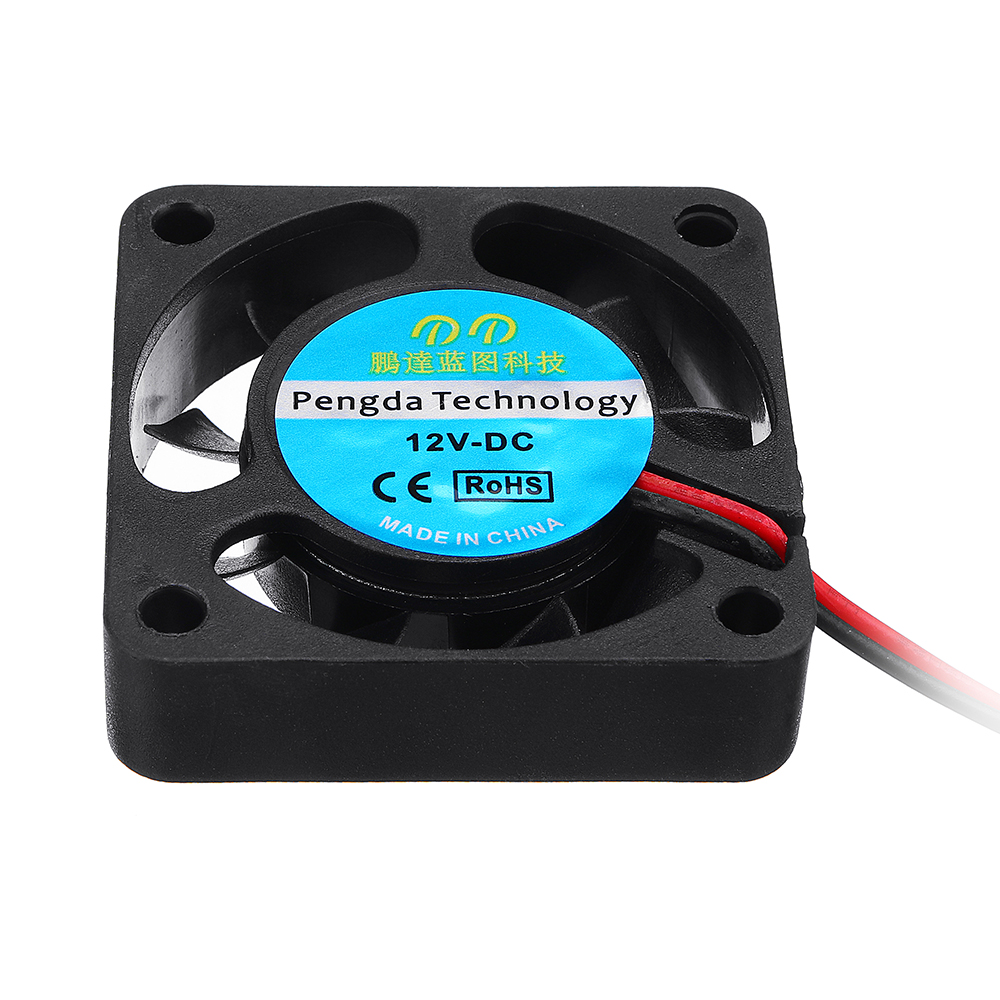 20pcs 40x40mm Small Fan 4010S Computer Chassis CPU Fan 2 Line With Plug 33