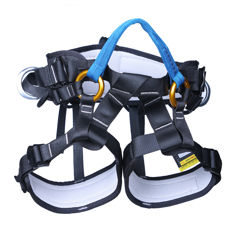XINDA XD-A9519 Outdoor Rock Climbing Half Body Waist Support Safety Belt Rappelling Protective Gear