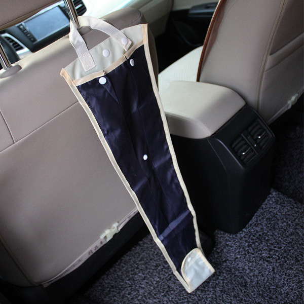 Car Back Seat Rain Umbrella Foldable Holder Cover Sheath Storagebag