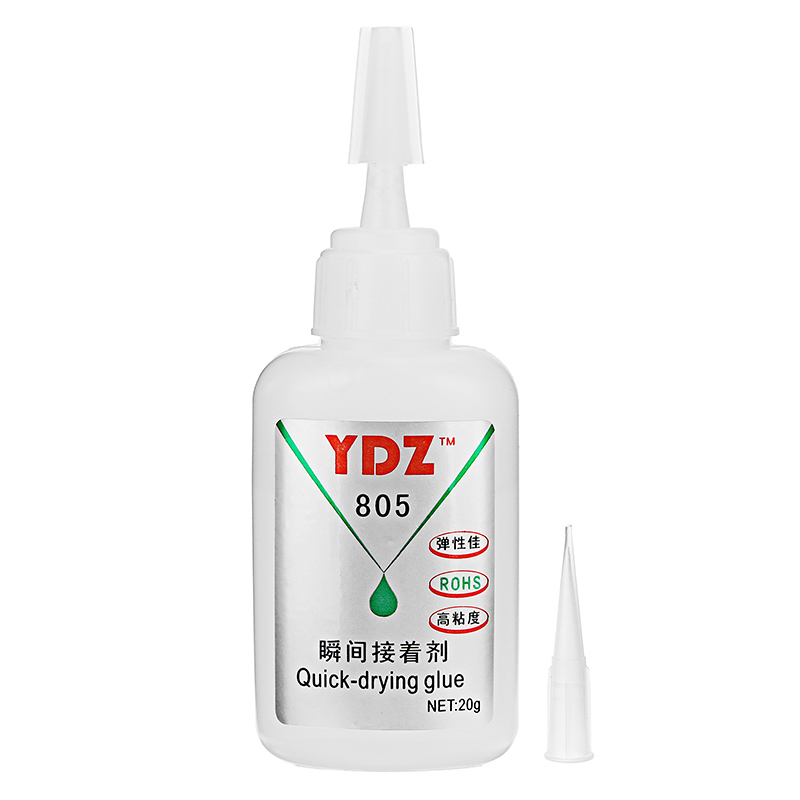 YDZ-805 20g Super Instant Glue for Leather Metal Funiture Quick Drying Adhesive Repair Kit