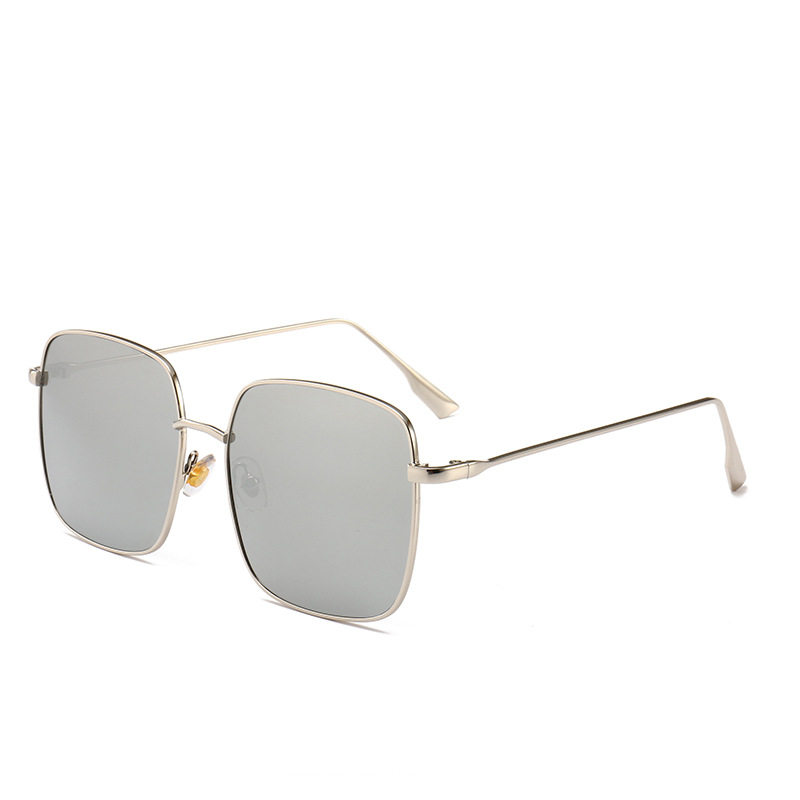 Men Women Square Big Frame Sunglasses