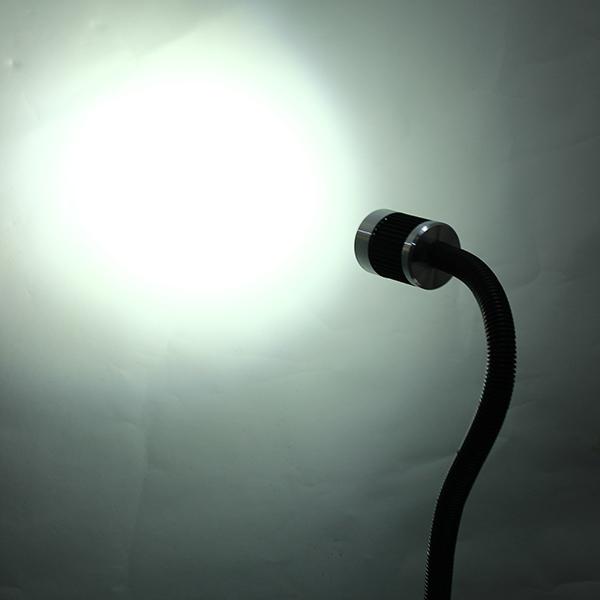 3W 12-24V 500mm CNC Machine LED Lamp Aluminum Alloy Flexible Light Bar Working Tool Lamp