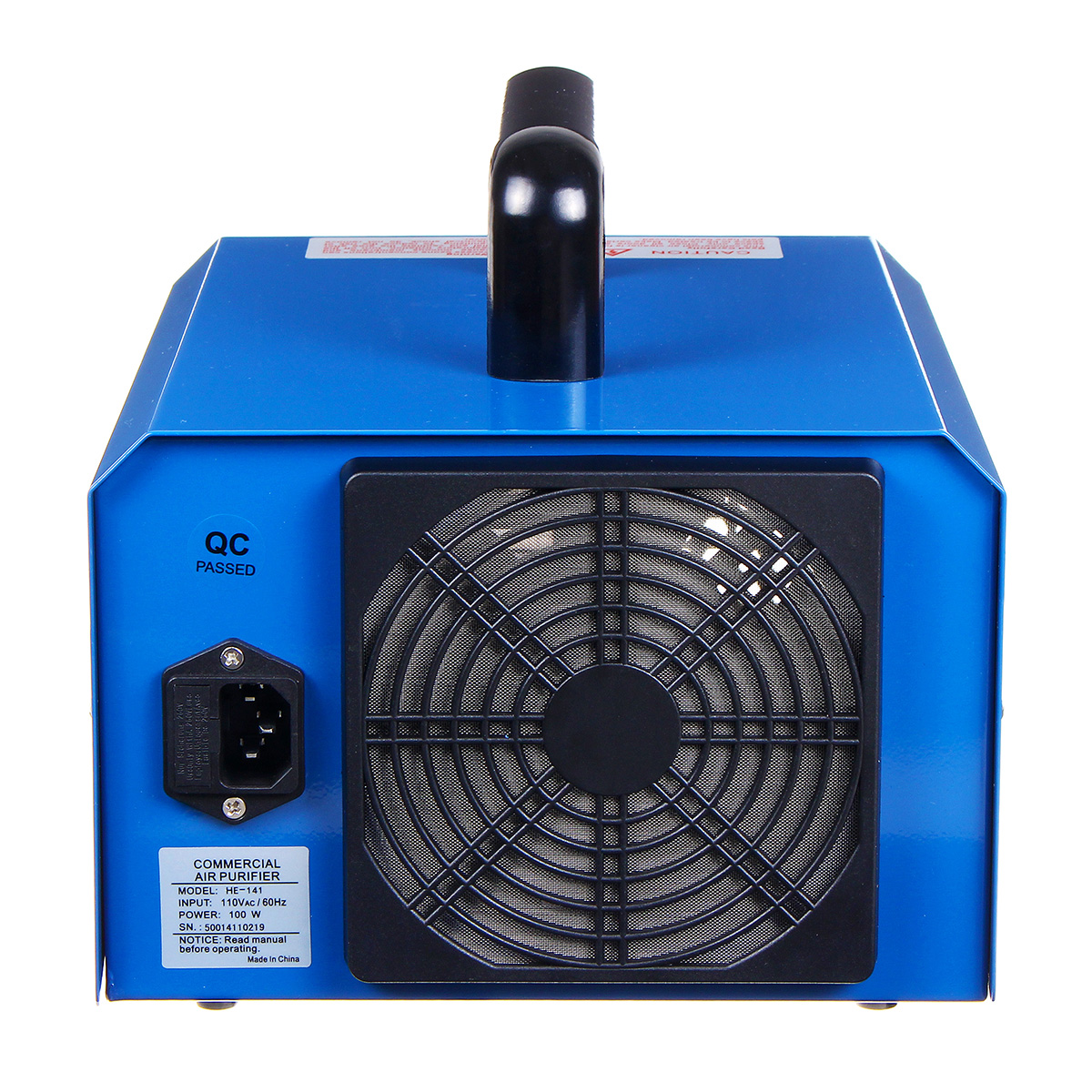 110V/220V Commercial Household Ozone Generator Disinfection Machine Air Purifier 3.5g-7.0g/h Adjustable
