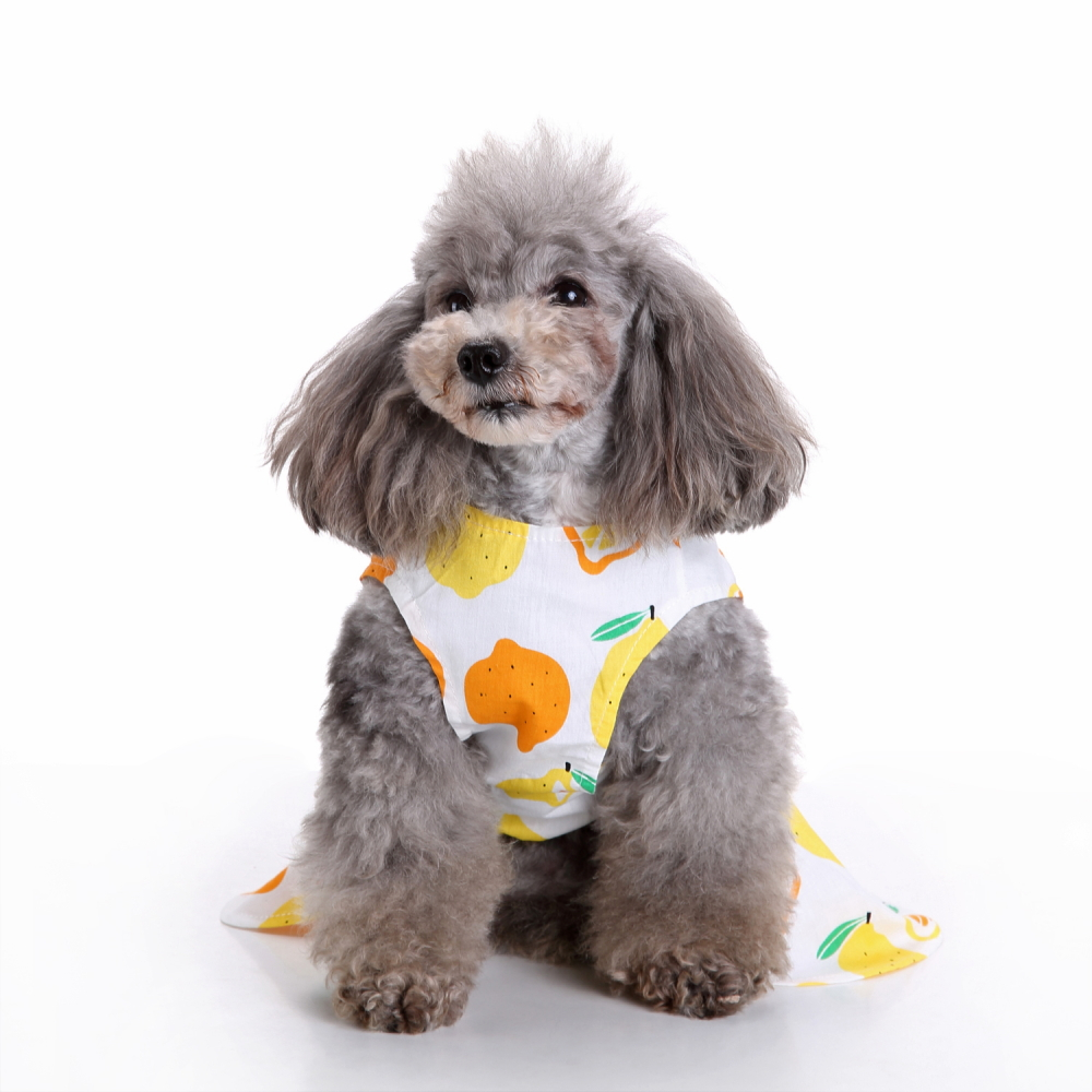 Fashion Pet Dog Dress Clothes Summer Shirts Vest Comfy Apparel
