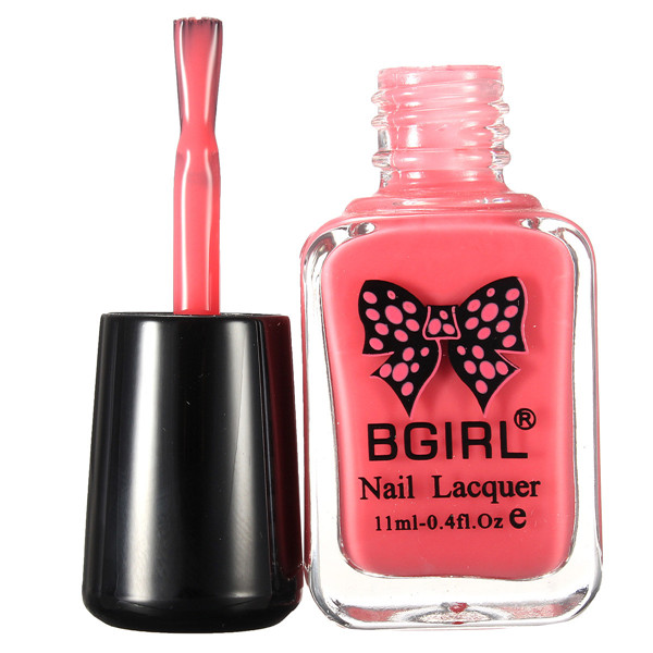 Temperature Change Color-chaging Nail Art Polish Lacquer Shiny Peel Off Soak Off