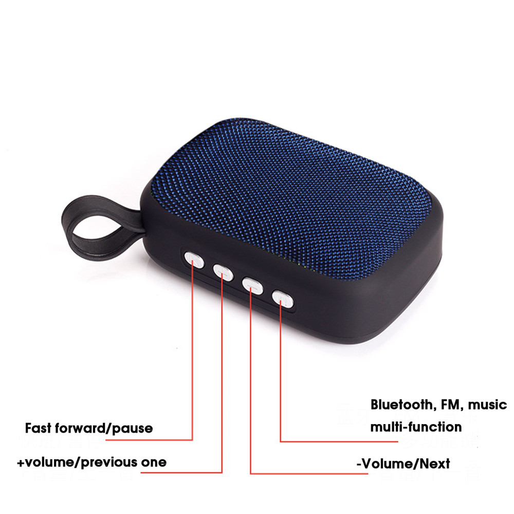 Wireless bluetooth Speaker Portable Music Sound For Tablet Cellphone