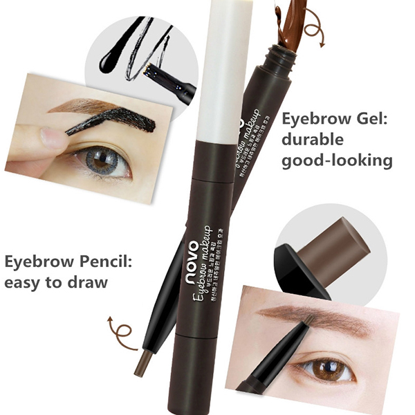 Eyebrow Pencil Enhancer Gel Kit