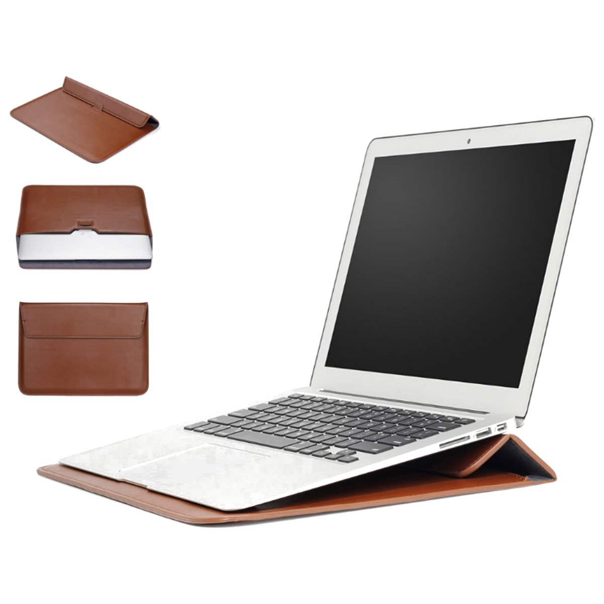 Sleeve Case Laptop Bag With Stand Holder For 11.6/13.3""