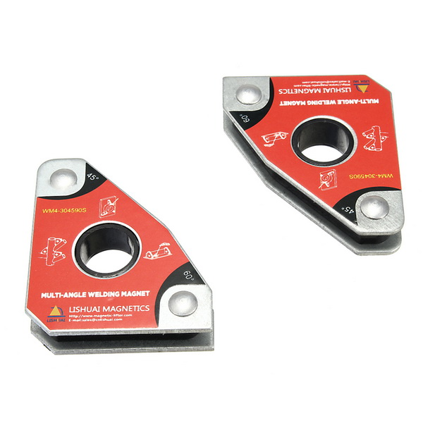 Multi-angle Mini Welding Magnet/Magnetic Clamping Tools for Holding with Twin Pack