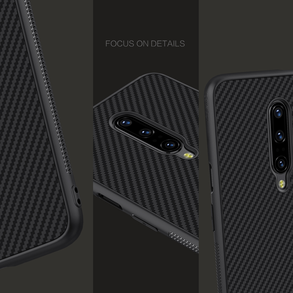 NILLKIN Synthetic Aramid Fiber Anti-Fingerprint Anti-Scratch Protective Case For OnePlus 7 PRO