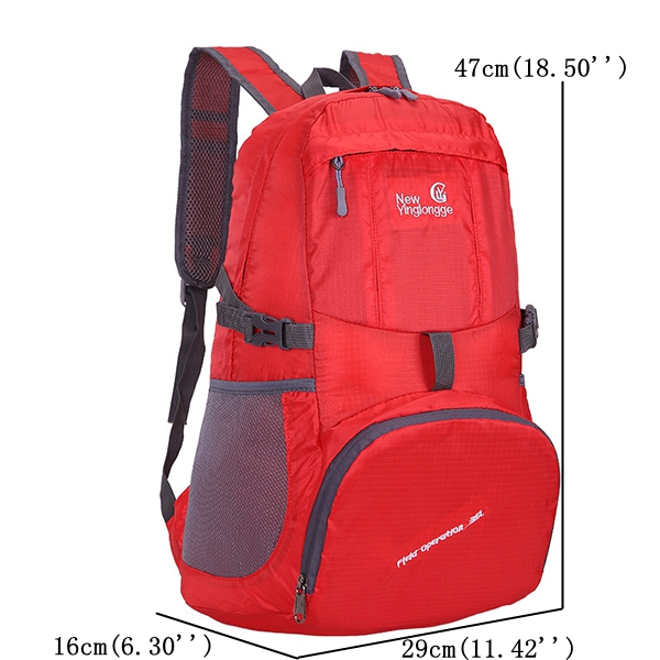 Nylon Casual Light Weight Folding Waterproof Shoulder Bag Backpack