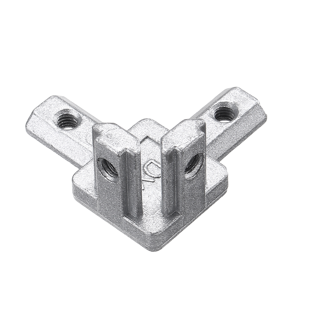 Suleve™ CJ20 T Slot 3 Way 90 Degree Inside Corner Connector Joint Bracket for 2020 Series Aluminum Profile