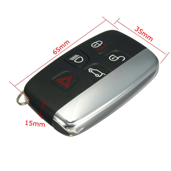 5 Button Smart Remote Key Fob 315Mhz for Land Rover Range Rover LR4 Evoque Sport