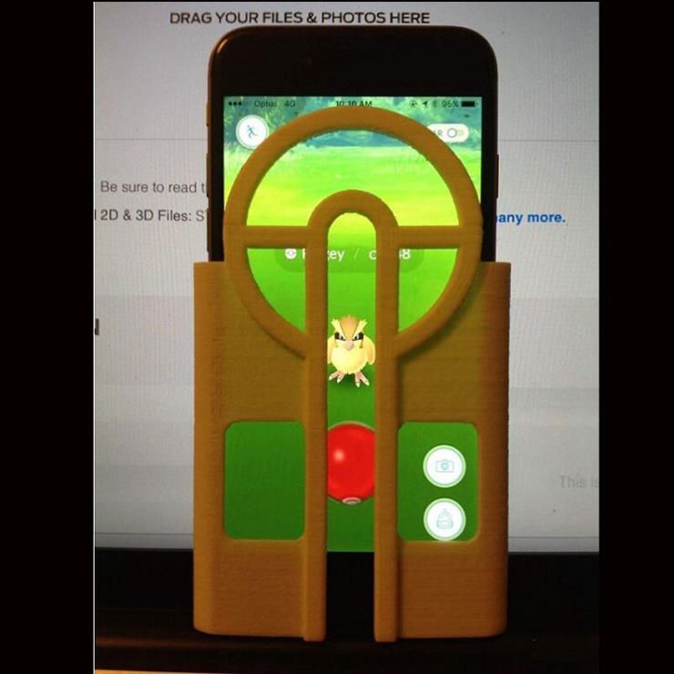 For Pokemon Go Game Sight Case Capture Target Tool Device For iPhone 6 Plus 6S Plus 5.5 Inch