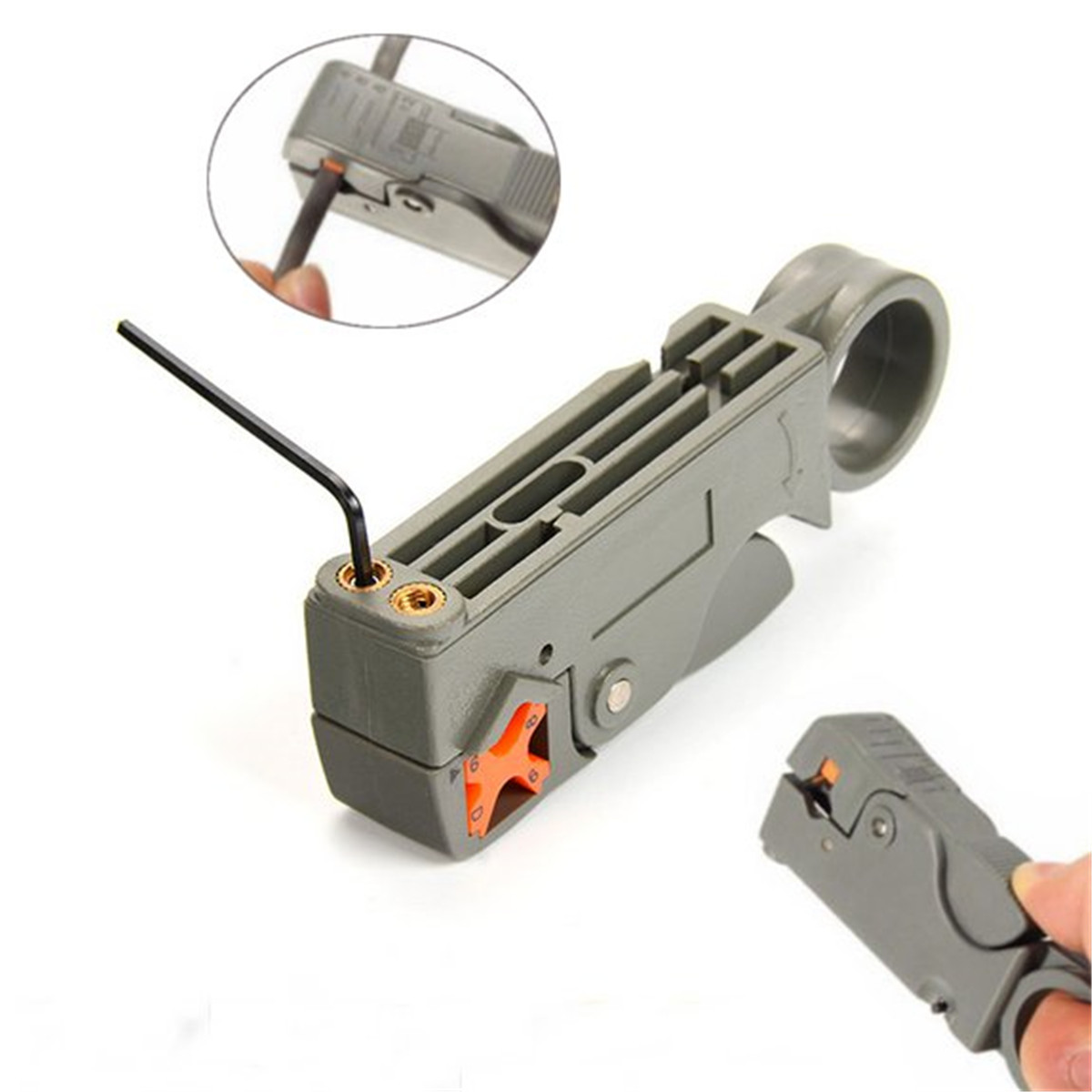 Automatic Wire Stripper Clamp Cutting Tool Cutter Crimping Cable Line Plier Adjustable