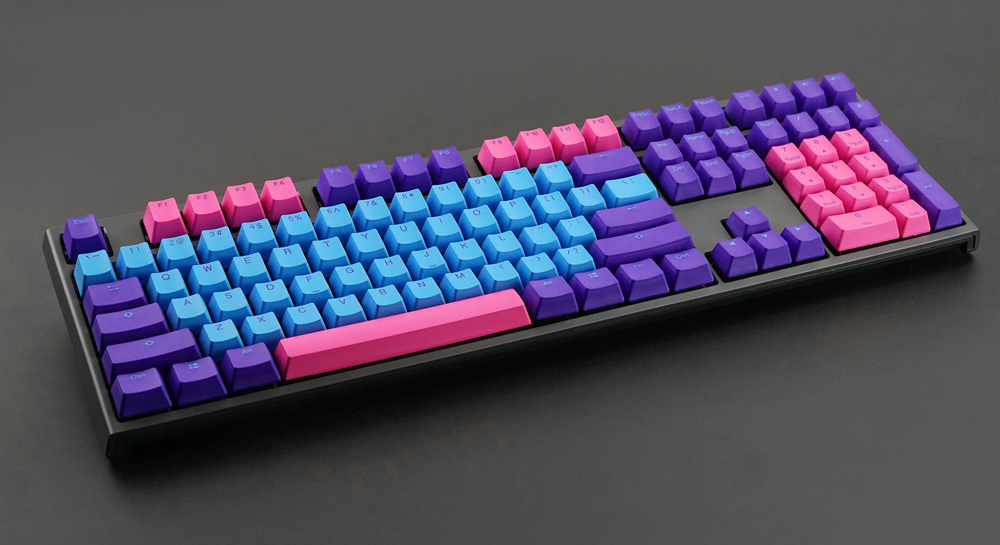 Akko X Ducky Joker 108 Key OEM Profile PBT Keycap Keycaps Set for Mechanical Keyboard