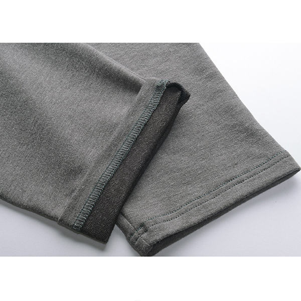 Mens Sexy Gray Slim Fit Warm Home Long Underwear Thermal Sleepwear Bottom
