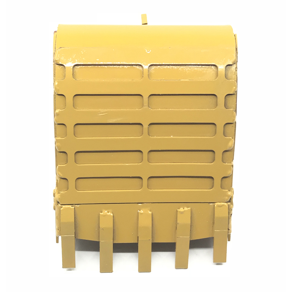 Metal 580 Simulation Bucket For HuiNa 580 Excavator RC Car Toys Styling 23 Channel RC Car Parts