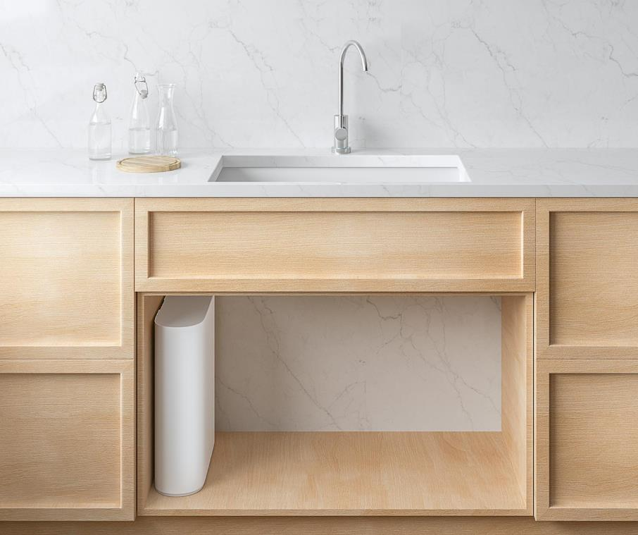 Xiaomi 1A Water Purifier, Reverse Osmosis RO Technology, Under Countertop Installation, Safe & Trustworthy Home Drinking Water Filter Filtration System, Works With Mi Home APP, Replaceable Filter