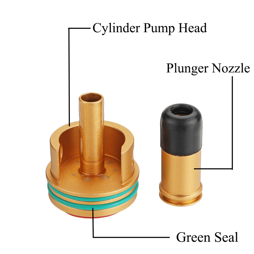 Cylinder Head + Air Seal Nozzle